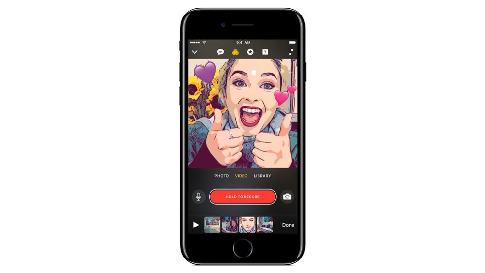 app Clips iOS - Nova febre? Apple anuncia Clips, app que legenda vídeos com voz