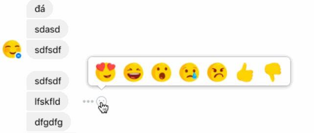 """facebook messenger reactions - Botão """"descurtir"""" pode chegar em breve ao Facebook"""