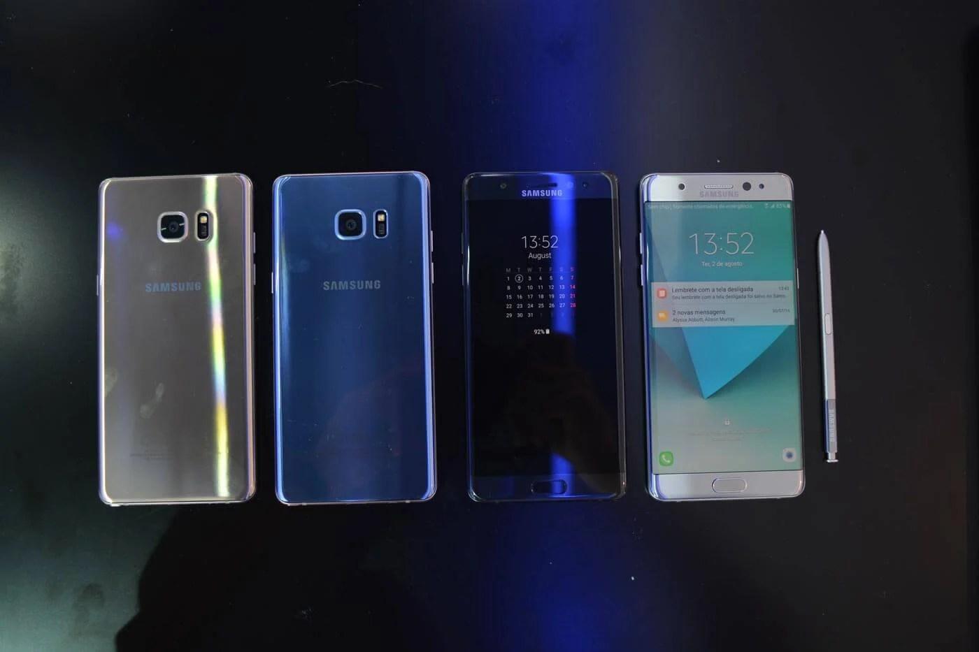 note77 - Galaxy Note 7 recondicionado será relançado em alguns países, afirma Samsung