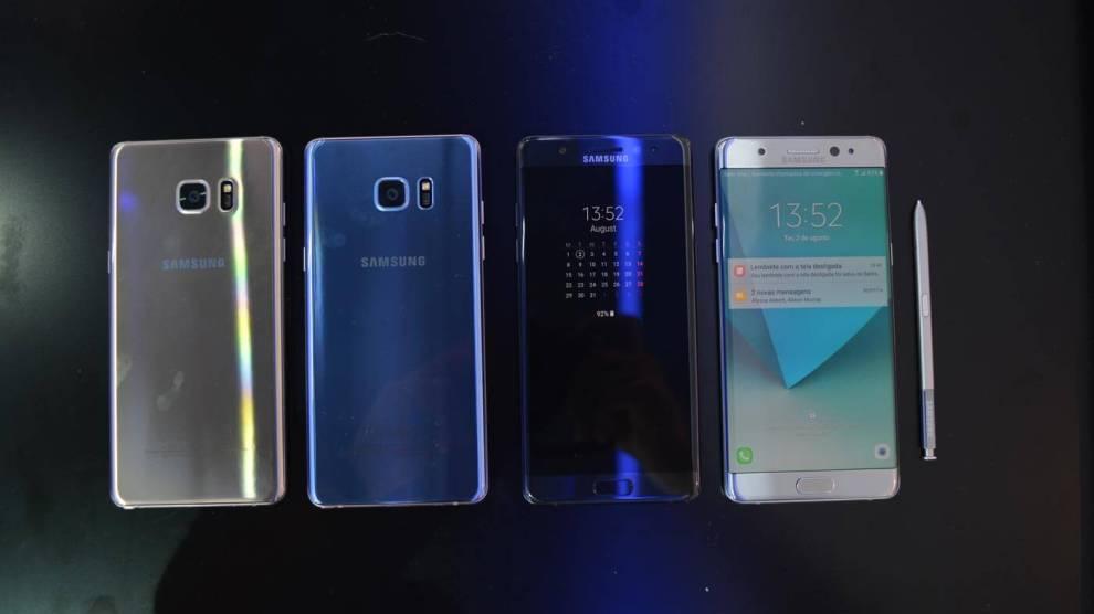 Galaxy Note 7 recondicionado será relançado em alguns países, afirma Samsung