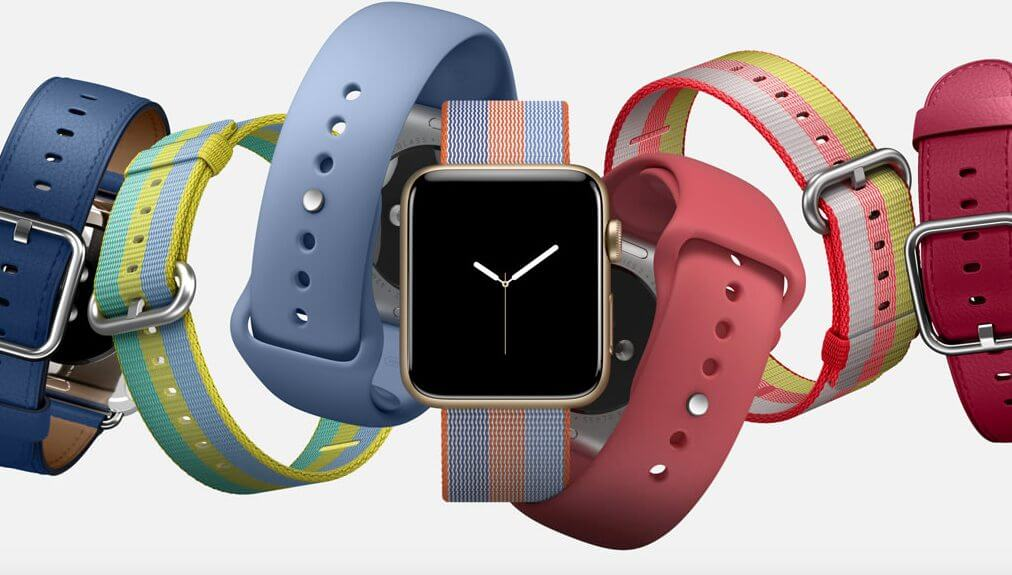 Coleção de primavera: Novas pulseiras do Apple Watch são lançadas