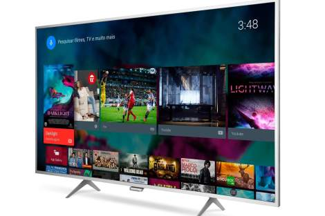 AF 6801 Perspectiva - Review: TV 4K Philips com Android Series 6800