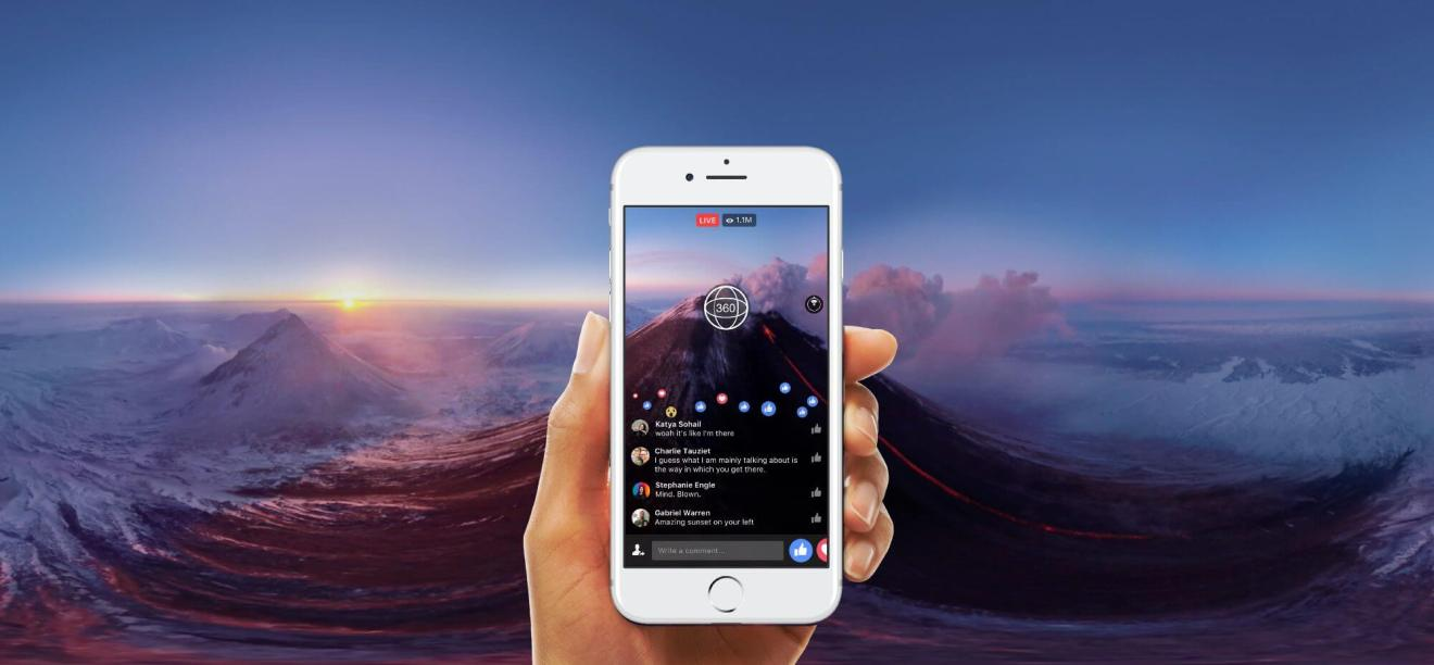 facebook 360 live broadcast video feed
