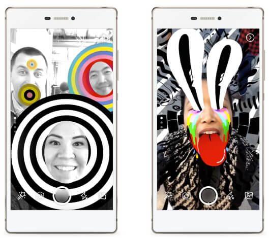 facebook stories filtro - 4 motivos para usar a nova câmera do Facebook no Android e iOS