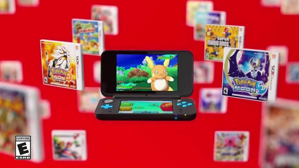 Surpresa! Conheça o New Nintendo 2DS XL