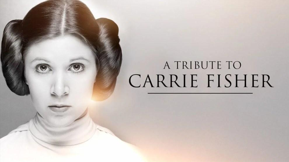 Homenagem a Carrie Fisher