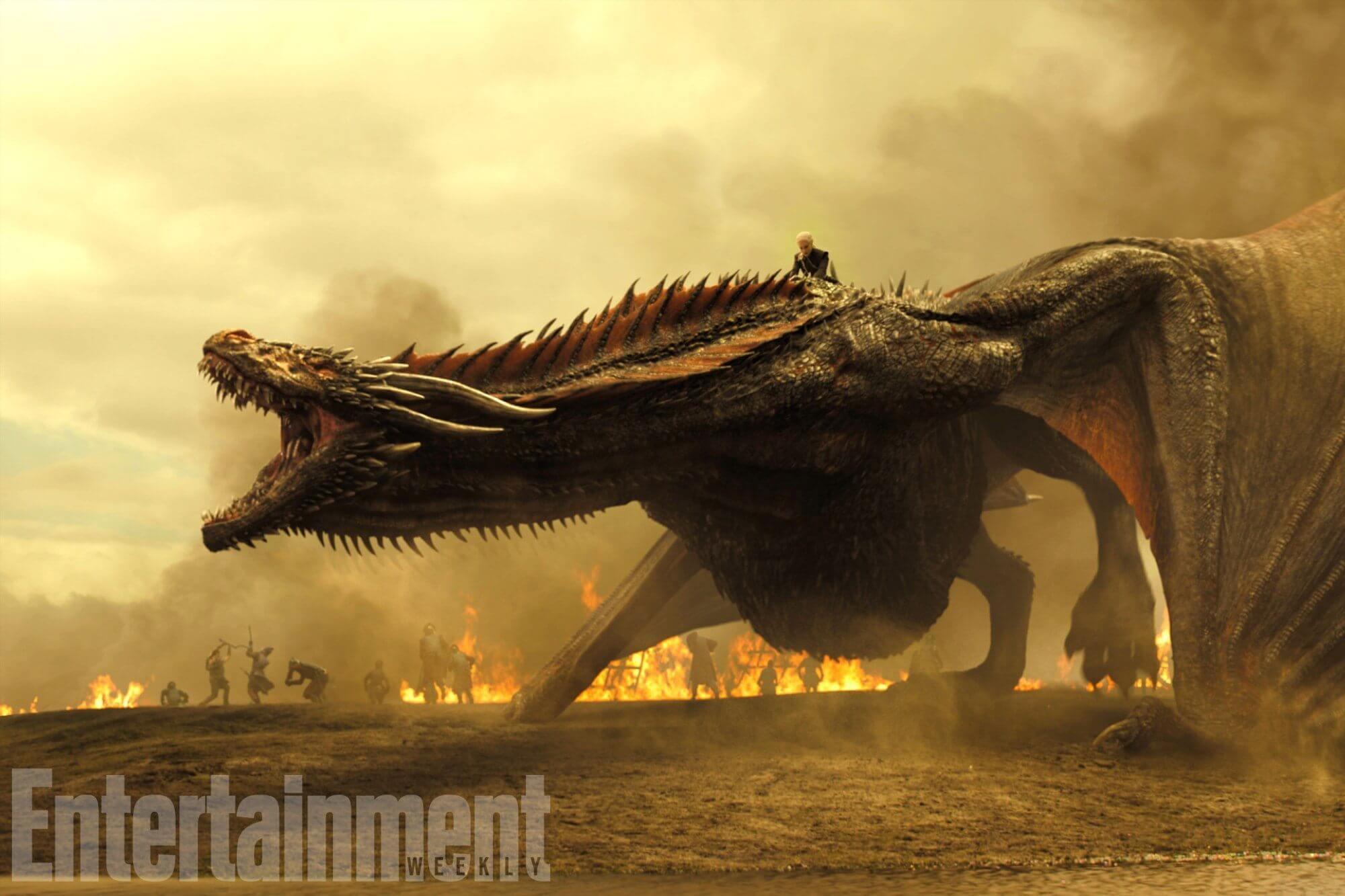 000256576 - Dragões e bastidores da próxima temporada de Game of Thrones