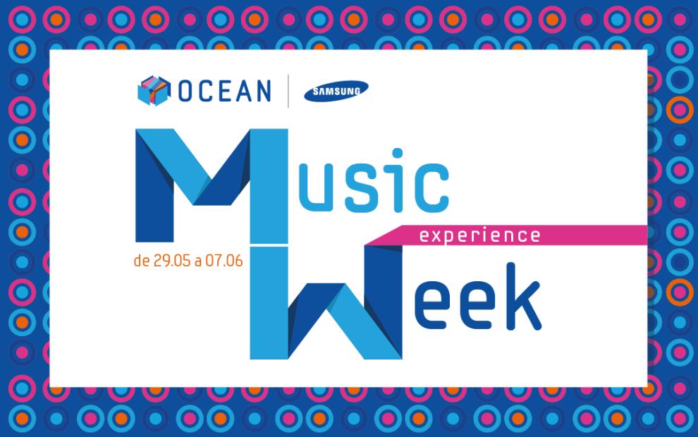 Samsung Ocean promove primeira edição do Music Experience Week