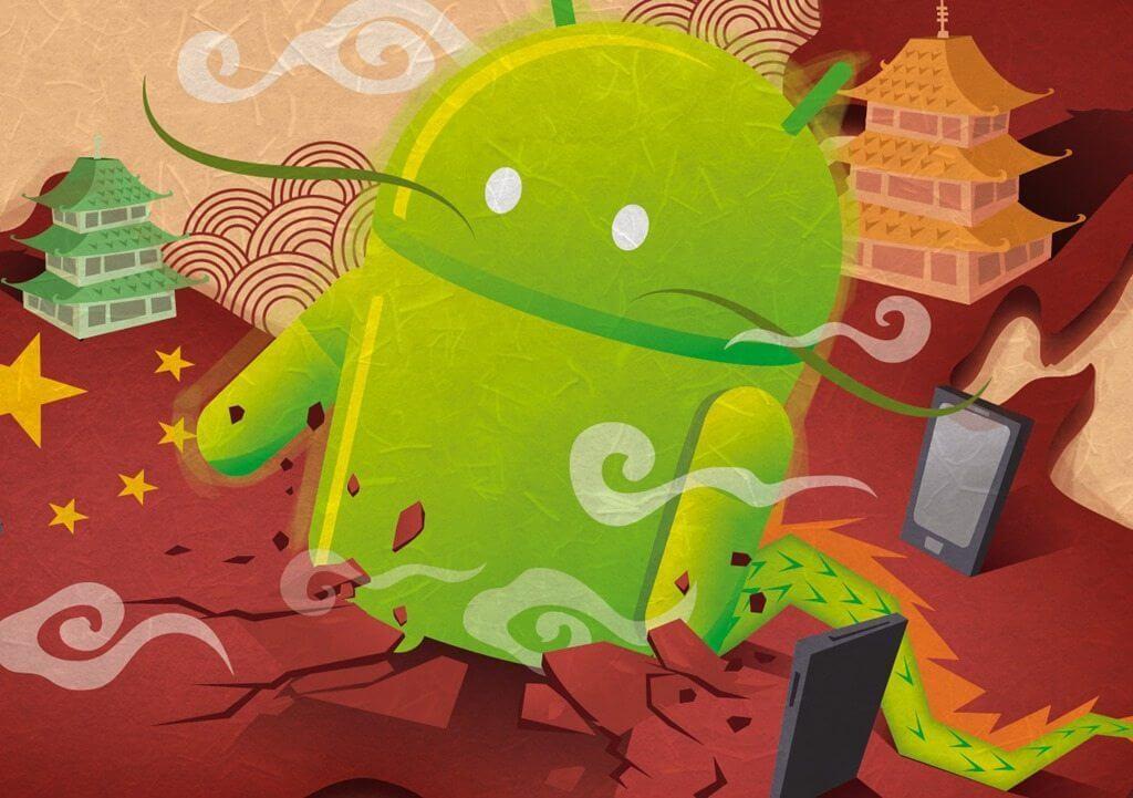 Android China - Android é o sistema mais popular do mundo e aparelhos chineses disparam