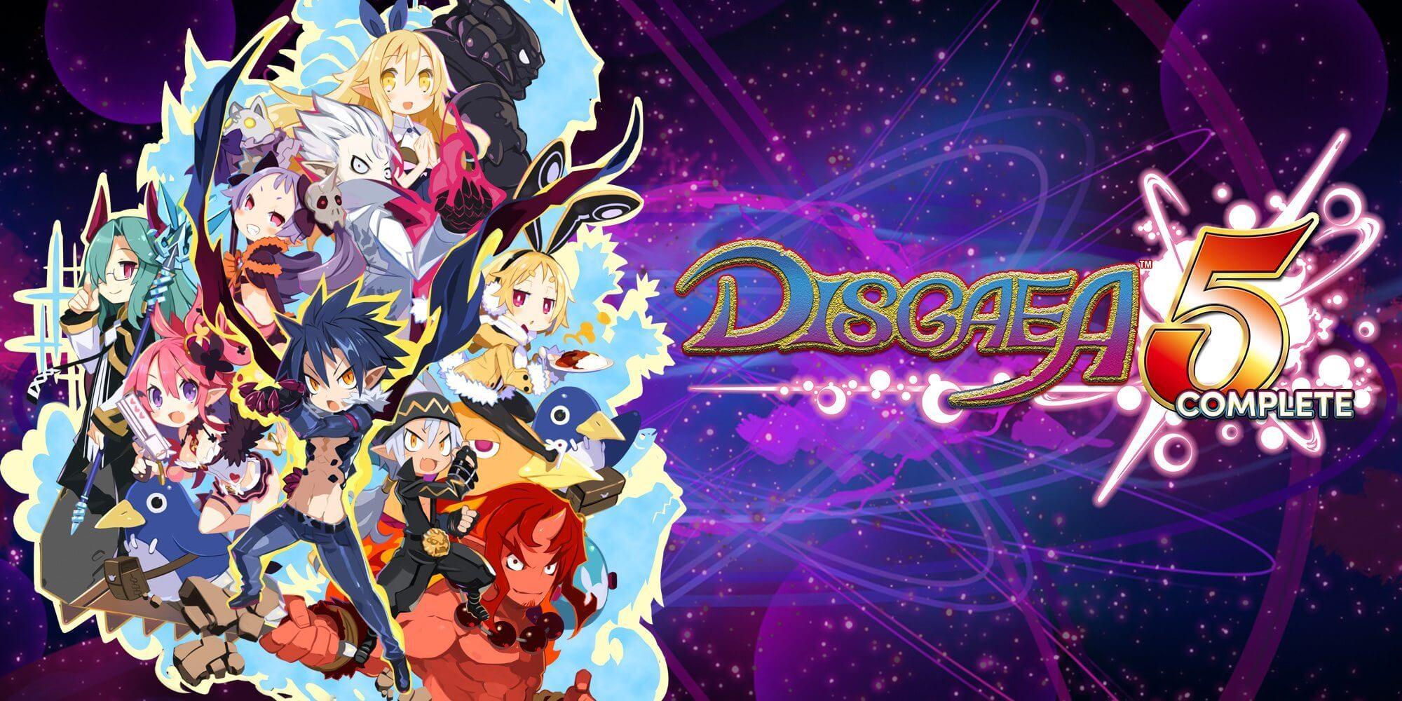 Disgaea 5 Complete - Disgaea 5 Complete é lançado para o Nintendo Switch