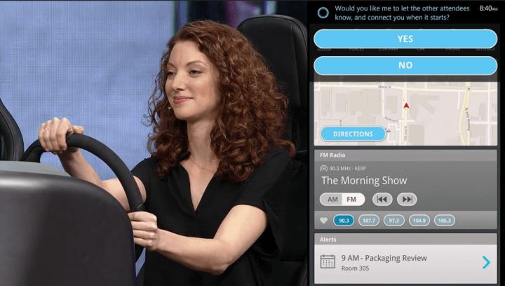 Microsoft - Cortana in a Car