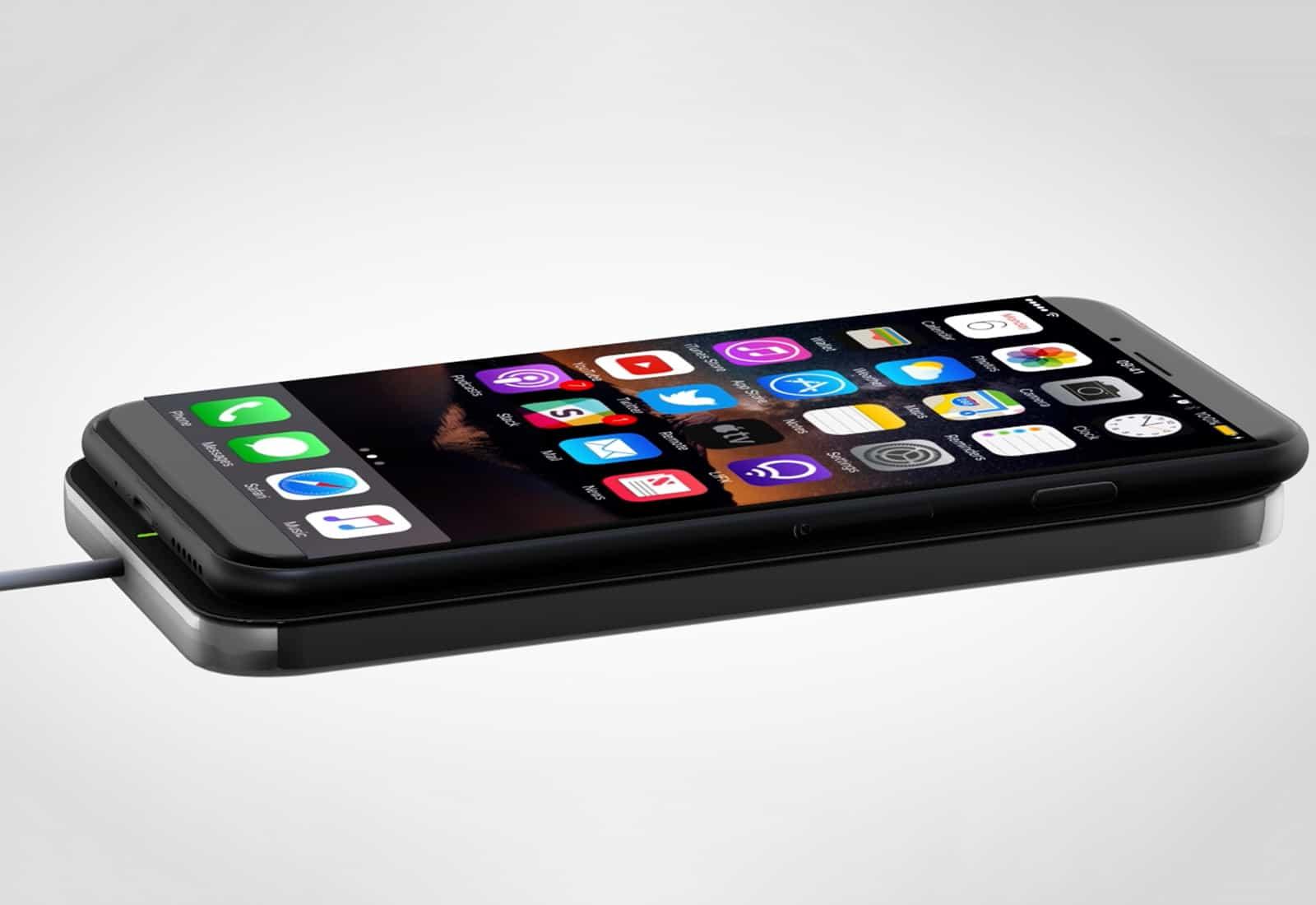 iPhone 8 Wireless - Próximo iPhone pode vir com AirPods incluso e carregamento wireless