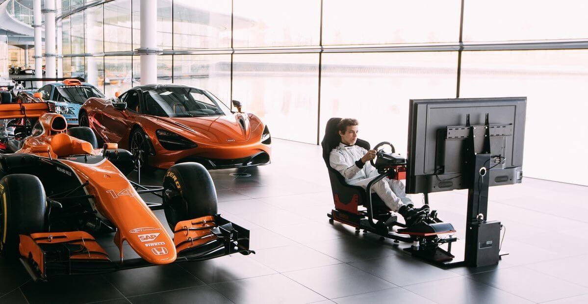 maclaren f1 simulador game - McLaren tem trabalho dos sonhos para fãs de games e F1