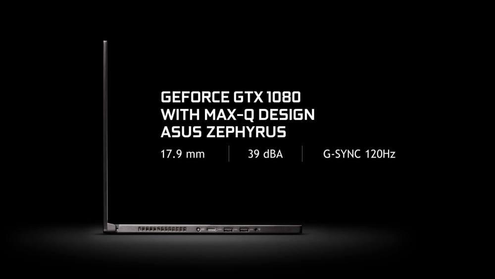 Computex 2017: Nvidia Max-Q permite notebooks gamers ultrafinos