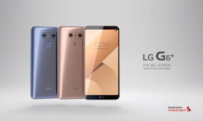 Captura de Tela 470 - LG lança G6 Plus na Coreia do Sul; G6 'mini' chegará ainda neste mês