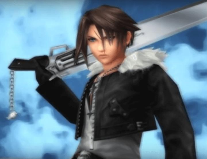 Squall 720x556 - 10 espadas que marcaram época na história dos games