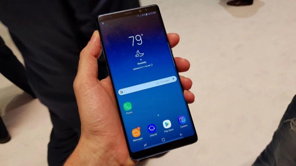 Galeria: confira as fotos e especificações do novíssimo Galaxy Note 8 7