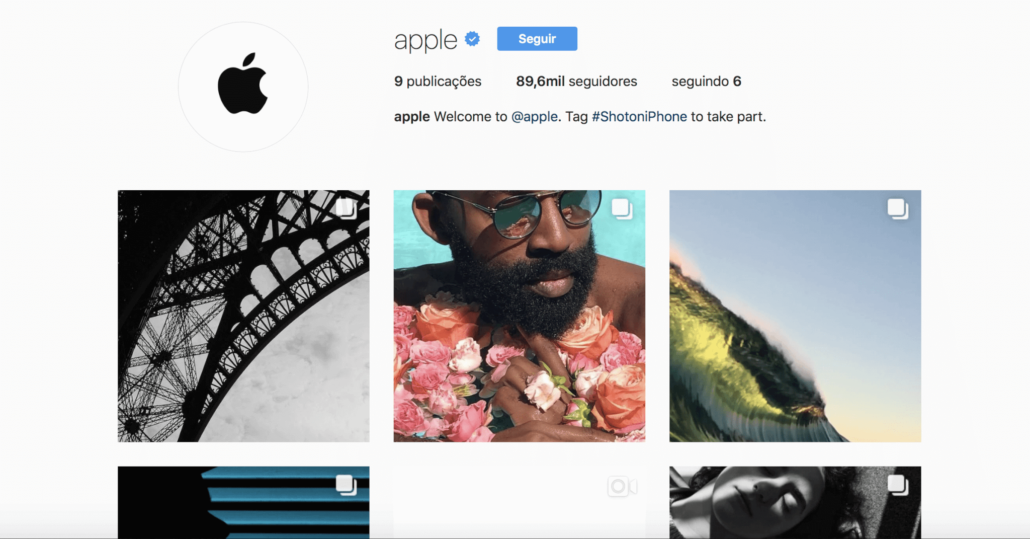 apple - Apple é a mais nova integrante do Instagram