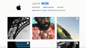 Apple é a mais nova integrante do Instagram