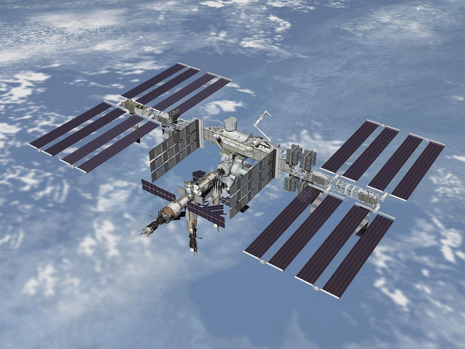 Estação Espacial Internacional - Rússia e EUA firmam acordo para construir primeira estação lunar