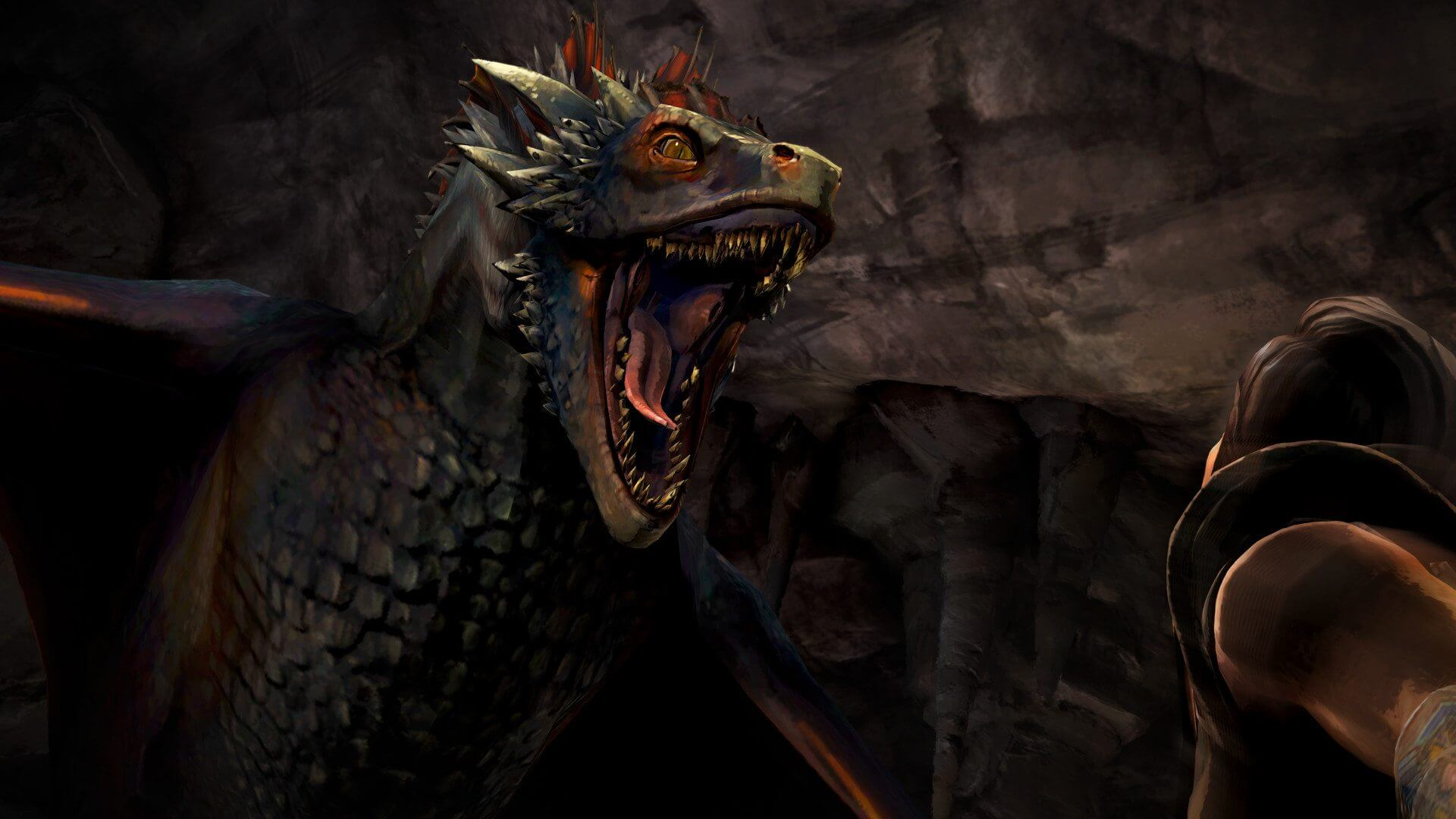 Game of Thrones Episode 3 Drogon - Nova animação de Game of Thrones é revelada: Conquest & Rebellion