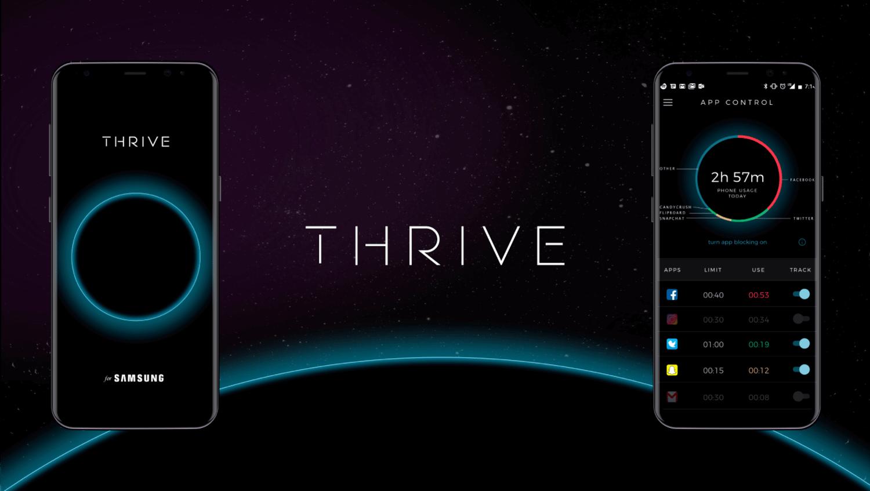The Thrive App TV Screen 32in1 - Conheça o Thrive, um app para você se desconectar do celular