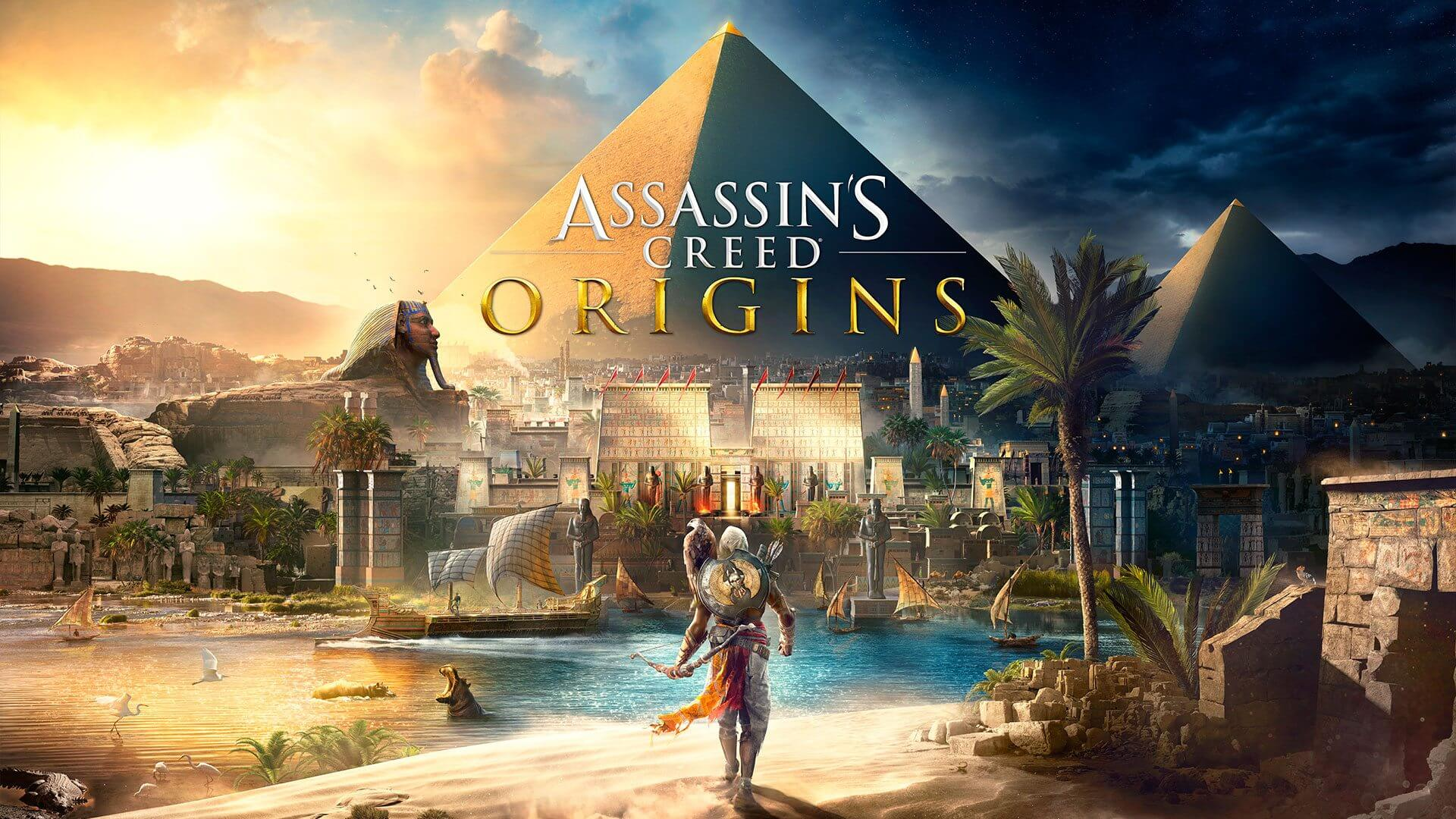 ac news announce keyartt thumb ncsa 292590 - Review: Assassin's Creed Origins é uma aventura incrível pelo Egito Antigo