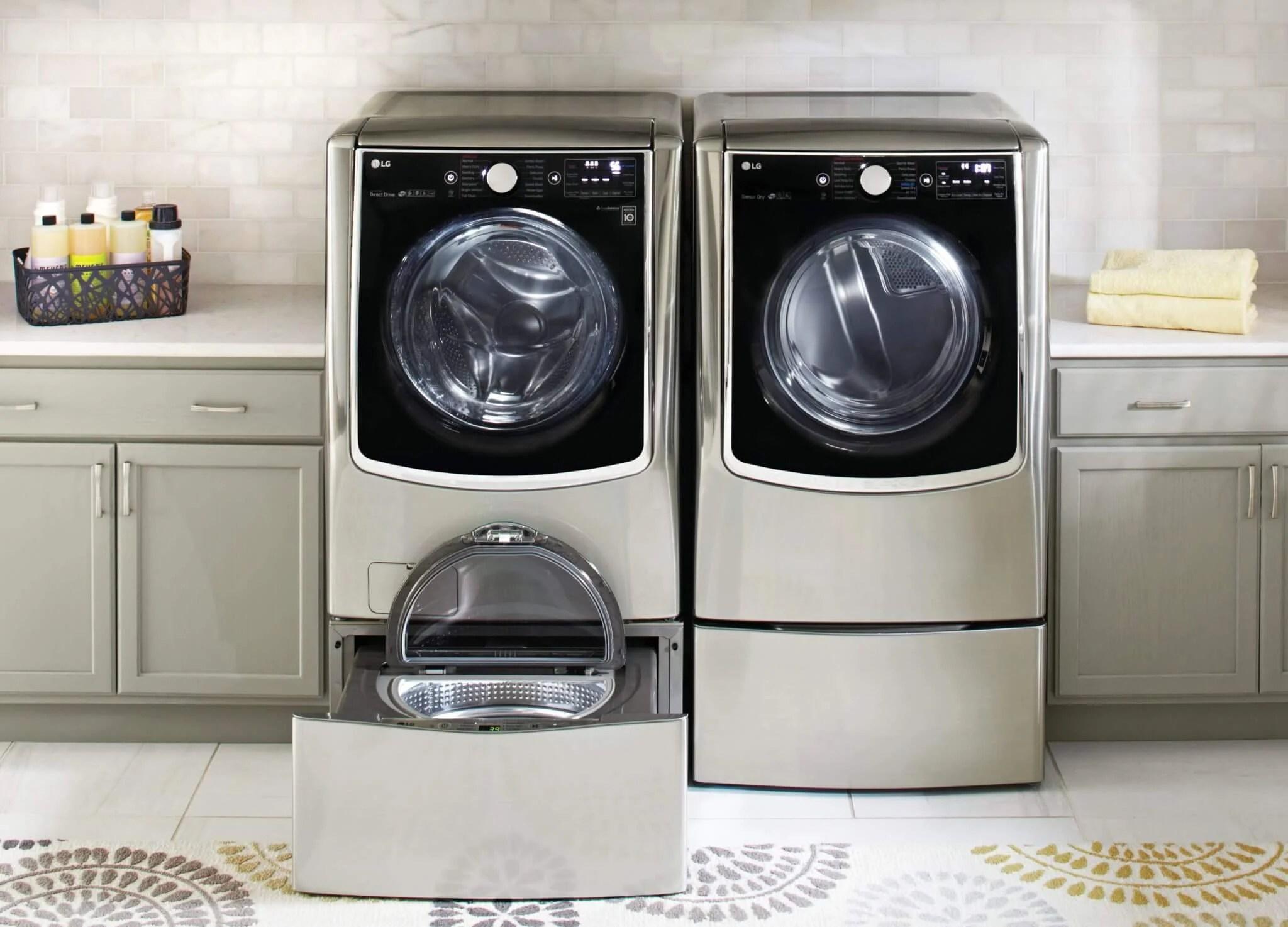 lg twin wash laundry machine01 - LG anuncia Lava e Seca TWINWash e novo portfólio de linha branca