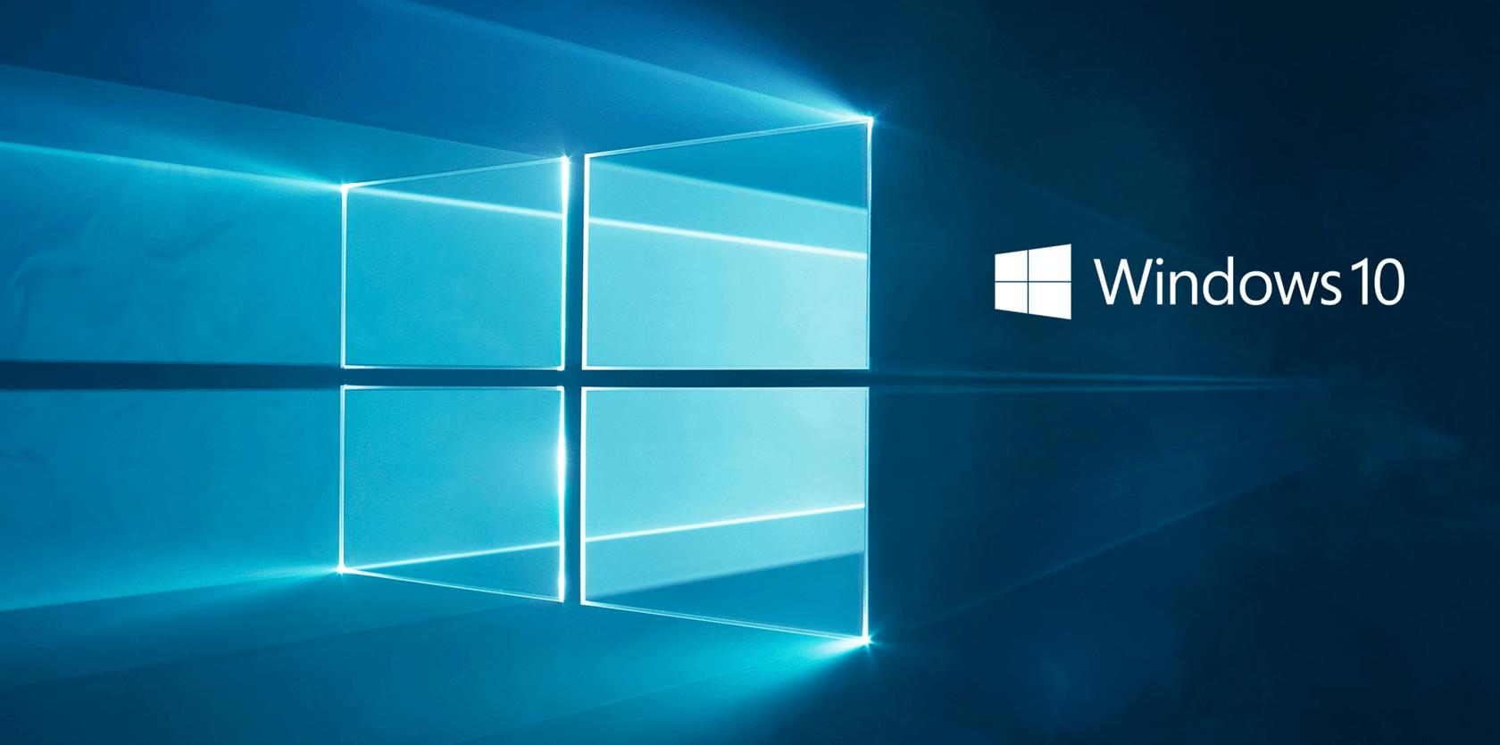 windows 10 logo tekst - Windows 10 Fall Creators Update: como atualizar seu PC hoje