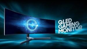 Monitor gamer curvo QLED 32:9 da Samsung é lançado no Brasil