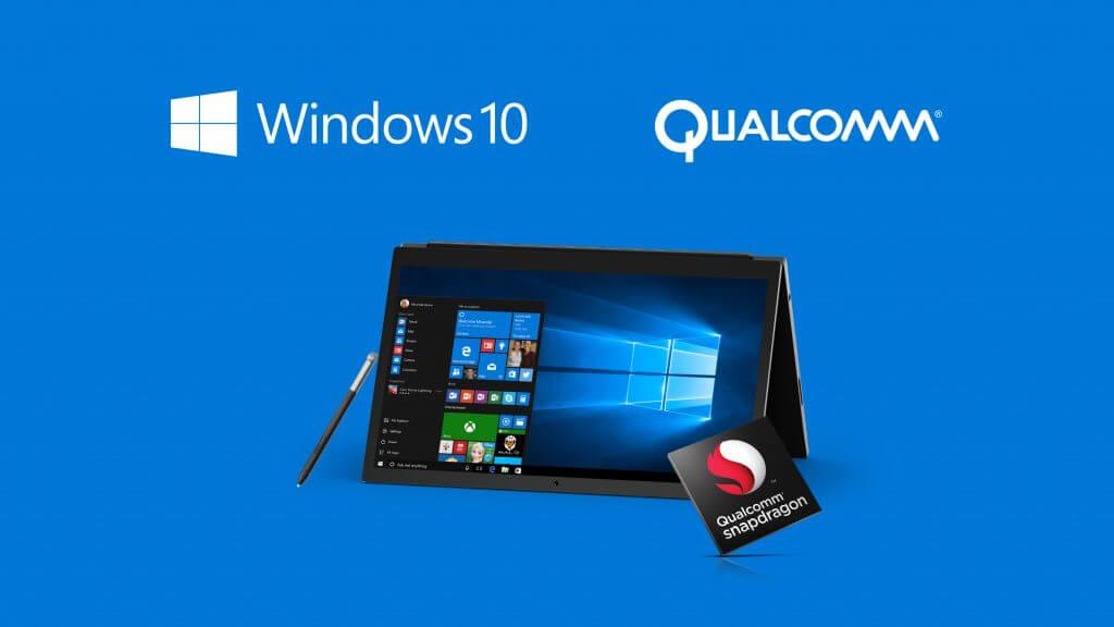 Windows10 Qualcomm Snapdragon 1024x576 - Vazamento mostra dispositivo da Microsoft com Snapdragon 845 em 2018