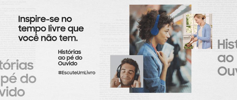 Histórias ao Pé do Ouvido: Samsung quer estimular o consumo de audiobooks