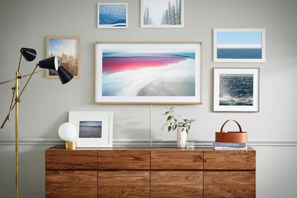 """TV da Samsung """"The Frame"""" recebe novos quadros, de Monalisa até A Última Ceia"""