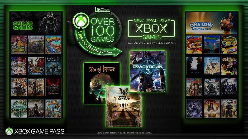 Xbox Game Pass Key Art US 940x528 hero - Próximos exclusivos Microsoft entrarão no Xbox Game Pass no lançamento