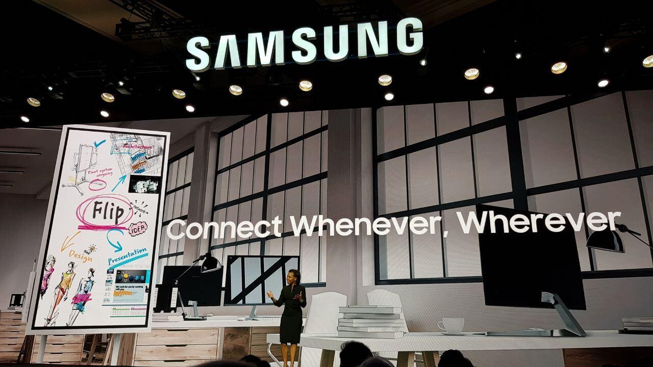 c8e22190 4201 4d03 8c10 97b03ceb60fd - CES 2018: Conheça o Samsung Flip, seu novo quadro digital
