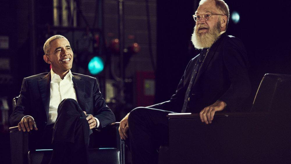 letterman - David Letterman estreia na Netflix entrevistando Barack Obama