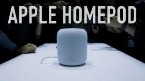 Apple começará a vender o HomePod nesta sexta-feira 10