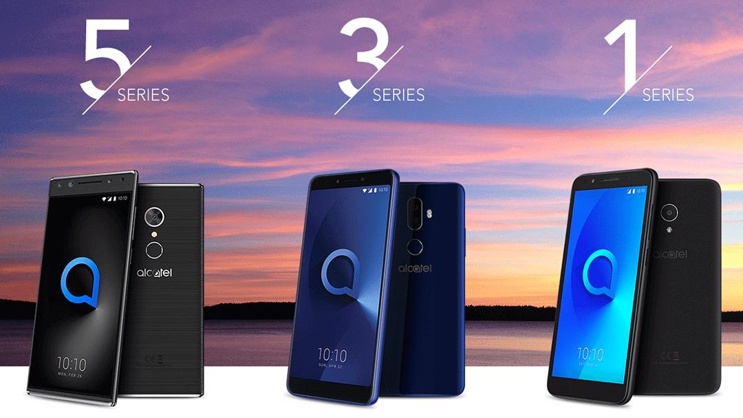 Alcatel Séries - MWC 2018: Alcatel lança grande gama de smartphones e o primeiro Android Go Edition do mundo