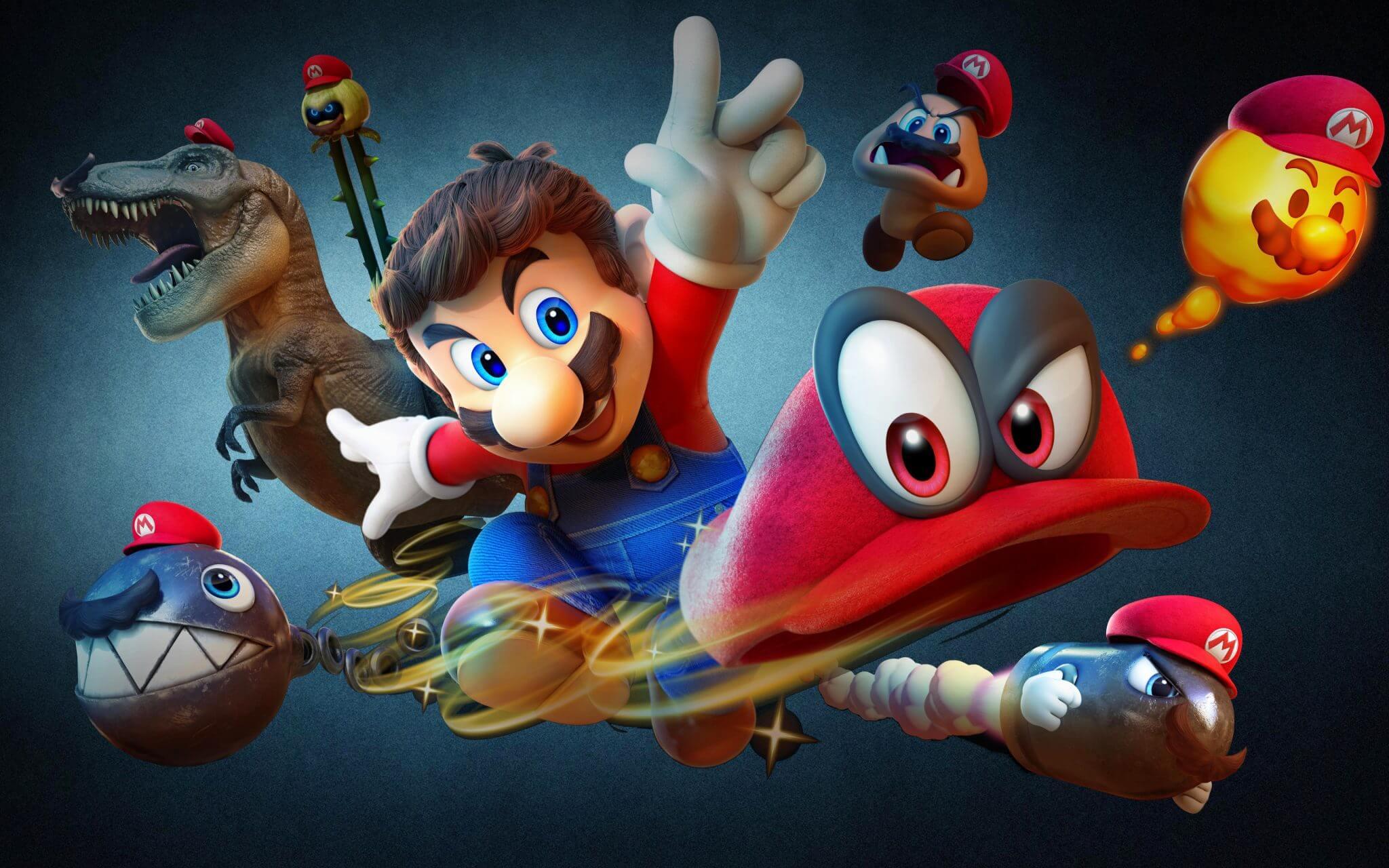 Super Mario Odyssey Wallpaper - Nintendo confirma filme de Mario pelo estúdio de Meu Malvado Favorito