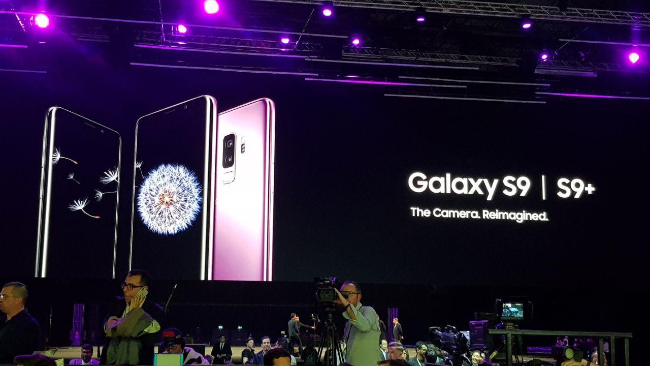 Galaxy S9 e S9+ são apresentados na Mobile World Congress 2018 6