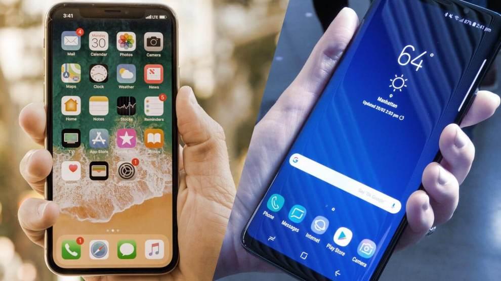 Comparativo: Samsung Galaxy S9+ vs Apple iPhone X 4