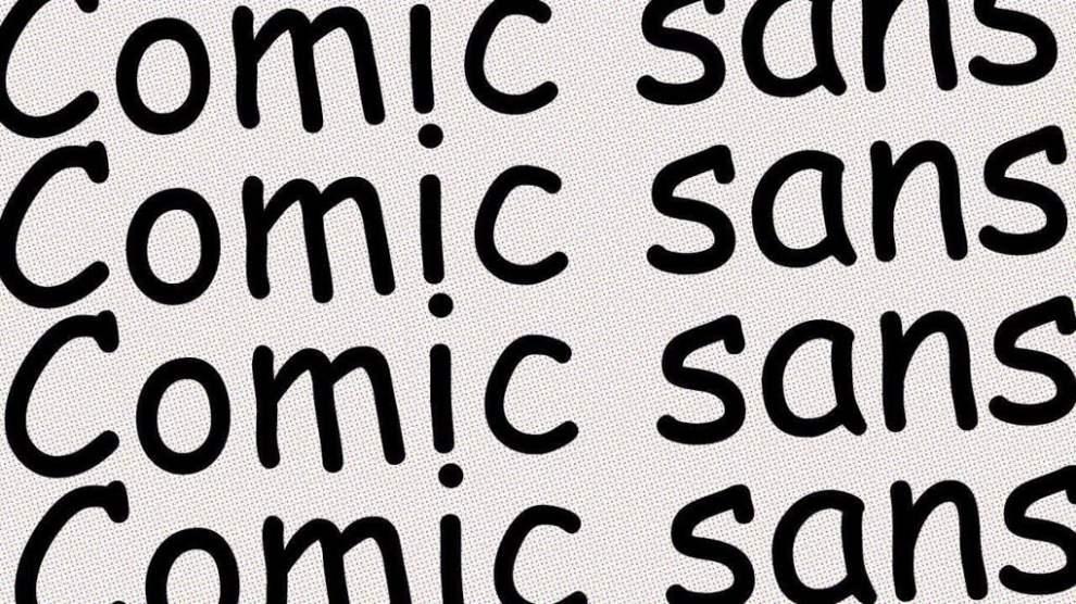 Comic Sans: conheça a história da fonte mais odiada do mundo 4