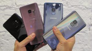 Galaxy S9 colors 1 - REVIEW: Galaxy S9 e S9+ e sua câmera reimaginada