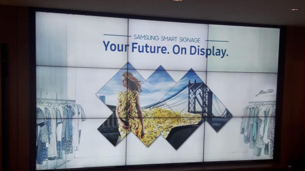 Samsung reforça a linha de produtos Digital Signage no Brasil 4