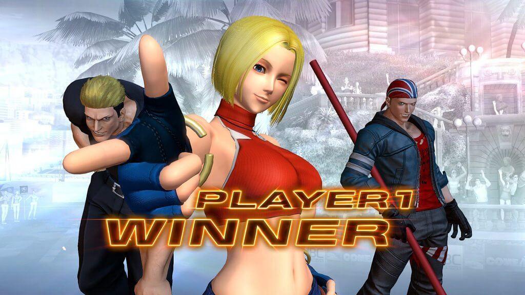 Blue Mary KOFIV - The King of Fighters XIV terá Blue Mary como personagem em DLC