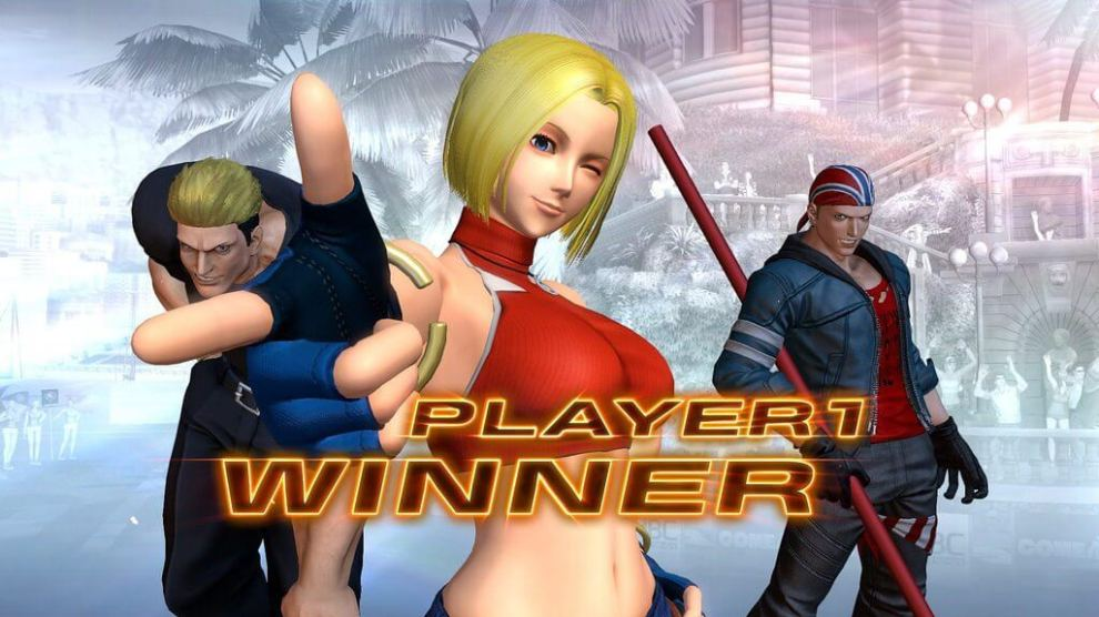 The King of Fighters XIV terá Blue Mary como personagem em DLC 7