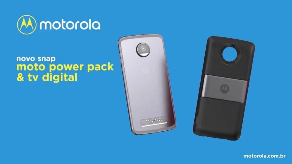 Power Pack e TV digital: conheça o mais novo Moto Snap 7