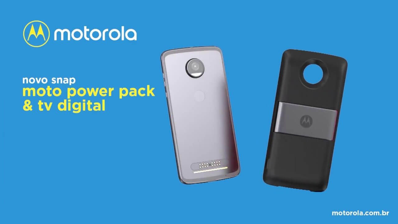 Power Pack e TV digital: conheça o mais novo Moto Snap 8