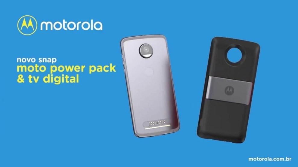 Power Pack e TV digital: conheça o mais novo Moto Snap 6