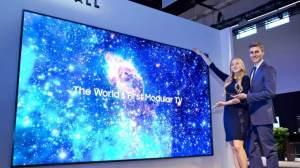 TVs MicroLED da Samsung serão lançadas no segundo trimestre 11
